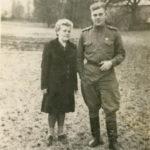 Клавдия и Иван Новичихины 1946 г.